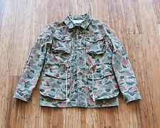 GREAT CONDITION RRL Camo Duck Canvas Jacket SIZE S