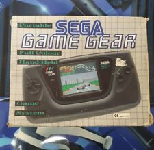 Sega Game Gear Box Only With Insert.