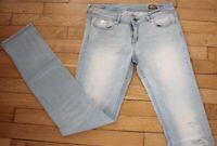 KAPORAL 5 Jeans pour Femme W 28 - L 34 Taille Fr 38 SHYM (Réf #G207)