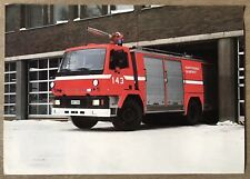 1982 Sisu SK 150 VKH/3800 original Finnish sales brochure