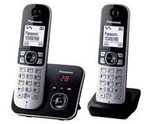 Panasonic KX-TG6822GB Duo Dect Telefon Set - Schwarz