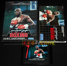 JAMES BUSTER DOUGLAS KNOCKOUT BOXING MegaDrive Versione Europea PAL ••• COMPLETO