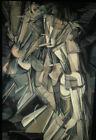 """Marcel Duchamp """"Nude Descending Staircase"""" Dada 35mm  Art Slide"""