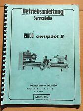 EMCO Service piezas para Compact 8