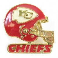 NFL Football Kansas City Chiefs Gold Helmet Pin (S)