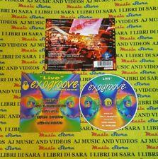 CD compilation LIVE EXOGROOVE vannelli vocalists bruno merlino (C50) no mc lp