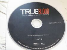 True Blood Second Season 2 Disc 3 Blu ray Disc Only 43-123
