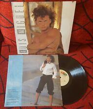 LUIS MIGUEL **Busca Una Mujer ** ORIGINAL & VERY SCARCE 1988 Spain LP w/ INSERT