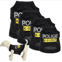 Small Dog Cat Vest Puppy T-Shirt Coat Pet Clothes Summer Apparel Costumes Lovely