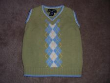 Boys The Childrens Place Spring Sweater Vest Size 6-9 Months
