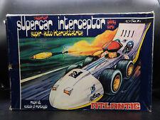 vintage Atlantic Galaxy Series SUPERCAR INTERCEPTOR w/original box car toy 1970s