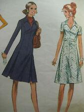 Vintage McCalls 2643 Princess Dress Sewing Pattern Women Size 16.5/39