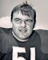1970s Chicago Bears DICK BUTKUS Glossy 8x10 Photo NFL Football Print Vintage