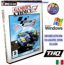 MOTO GP 3 PC CD ROM @@ WINDOWS NUOVO IMBALLATO ITALIANO