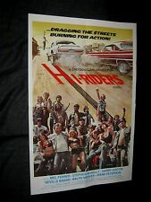 Original HI-RIDERS 1961 OLDSMOBILE Mercury Cougar 70's Classic Drive-In Movie