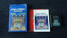 ATARI 2600 VIDEO PINBALL BOXED