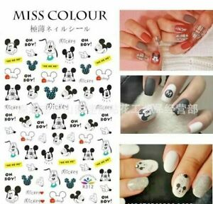 Mouse Doggy Nail Sticker Cute Animal Nail Decal Nail Design Waterproof Lovely