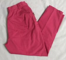 Vintage Gitano Womens Pink Tapered Leg Pants 13/14 Short