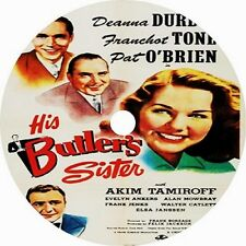 His Butler's Sister _  Deanna Durbin Franchot Tone Pat O'Brien 1943 dvd v rare