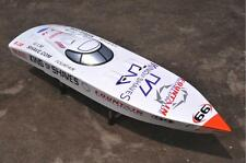 G26IP1White Prepainted Gasoline RC Boat Hull KIT Only for Advanced Player