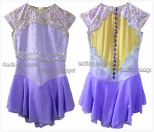 Ice skating dress.New 2018 Competition Figure Skating /Baton Twirling Costume