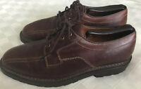 Allen Edmonds Mens Shoes Mapleton Brown Leather Dress Oxford Bicycle Toe Sz 8