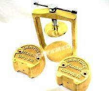 Dental Laboratory Lab Spring Press Compress Withtwo Brass Denture Flask Upper Lo