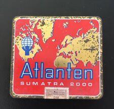 Antica SCATOLA SIGARETTE atlanti Sumatra 2000