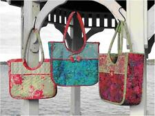 Aunties Two Old Port Carryall Bag Batik Handbag Project Tote Sewing Pattern
