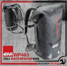 Borsa Borsone Zaino Waterproof Impermeabile Givi 35 litri Wp403