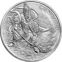 2017 South Korea Zi:Sin Series Gallus 1 oz .999 Silver Very Limited BU Coin