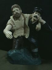 """Unique Dave Creations Tom Snyder Sculpture""""The Keeper of the Light-Rescue""""4/2400"""