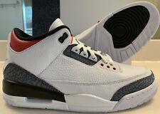Nike Air Jordan 3 Denim Men's Size 10.5 New With Box 100% Authentic