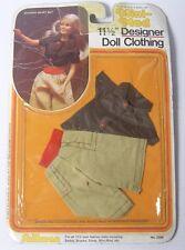 "Vintage 1983 Mini-Mod Dolls Clothes Divided Skirt Set for 11.5 "" Doll Barbie etc"