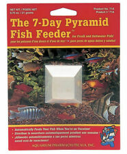 API Pyramid 7 Day Holiday Vacation Food Tropical Coldwater Fish Feeder