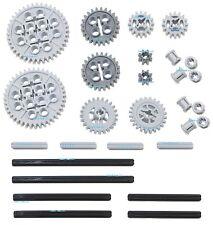 LEGO 28pc Technic gear & axle set (Mindstorms nxt pack robot rcx lot building)