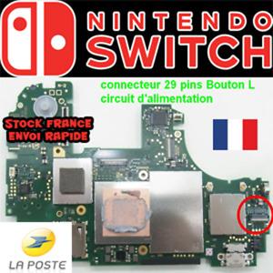 Connecteur Nintendo Switch Lite 29 pins bouton circuit d'alimentation