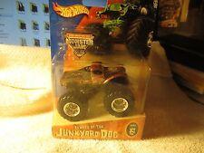 JUNKYARD DOG ~ HOTWHEELS 2004 # 25 MONSTER JAM TRUCK! UNOPENED! NICE! F1