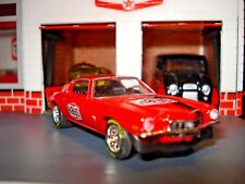 """M2 1971 71 CHEVROLET CAMARO SS LIMITED EDITION AMAZING DETAIL 1/64 RED """"HAYS"""""""