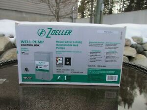 NEW Zoeller Well Pump Control Box 1HP (steel) 1010-2338 Submersible MSRP: $84.98