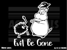 Spirited Away - Evil Be Gone - Ghibli - Anime - vinyl decal sticker