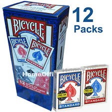 More details for 12 packs bicycle playing cards quality air cushioned packs poker , magician
