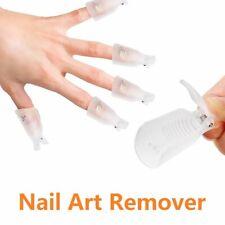 10 Pcs Acrylic Nail Art Soak Off Clip Cap Uv Gel Polish Remover Wrap Nail Us