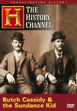 BUTCH CASSIDY & THE SUNDANCE KID (HISTORY CHANNEL DOCUMENTARY) NEW AND SEALED