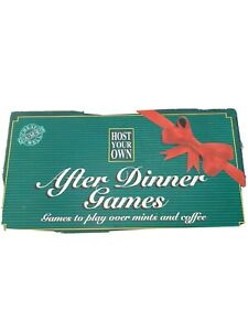 Host Your Own After Dinner Games Deluxe Cheatwell Games Card game Board game