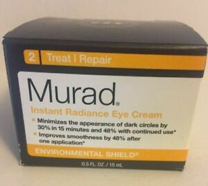 Murad  Instant Radiance Eye Cream 0.5 fl oz New No box