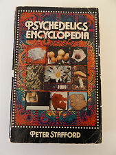 1978 PSYCHEDELICS ENCYCLOPEDIA by Peter Stafford 2nd Printing SIGNED by AUTHOR