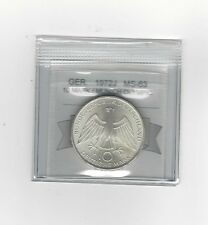 **1972J**Germany, Munich Olympics 10 Mark, Coin Mart Graded **MS-63**