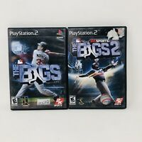 The Bigs - The Bigs 2 Playstation 2 PS2 Baseball Games Tested Working Complete