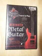 House of Blues - Learn to Play - Beginner Metal Guitar -   New In Shrink